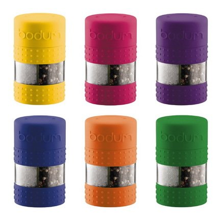 Bodum Мельница для соли и перца Bistro, цвета в ассортименте наборы для специй wellberg мельница для соли перца wb 7351
