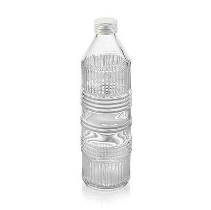 IVV Бутыль для воды с крышкой Industrial (850 мл), прозрачная 7718.2 IVV бутыль для молока remmy home цвет розовый прозрачный 1 л