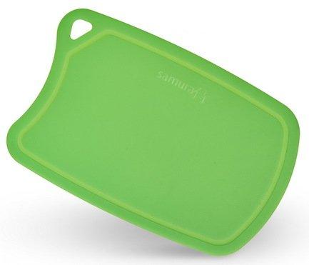 Доска Samura термопластиковая, 38х25х0.2 см, зеленая SF-02GR/16