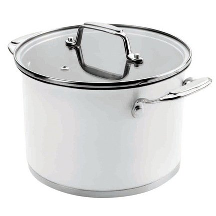 lacor 79020 belly Lacor Кастрюля Cookware White с крышкой (6.5 л), 24 см