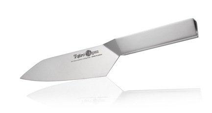 Tojiro Нож Сантоку Tojiro Origami, 17 см, со стальной рукоятью tojiro