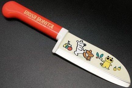 Нож поварской Tojiro Brisa Bonita, 11.5 см, сталь Sus420J2, с рукоятью из красного пластика от Superposuda