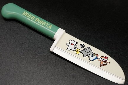 Нож поварской Tojiro Brisa Bonita, 11.5 см, сталь Sus420J2, с рукоятью из зеленого пластика от Superposuda