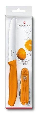 Victorinox Набор цветных ножей Color Twins, 2 пр. 1.8901.L9 Victorinox victorinox набор кухонных ножей 6 пр черный в деревянной подставке 7 7243 6 victorinox