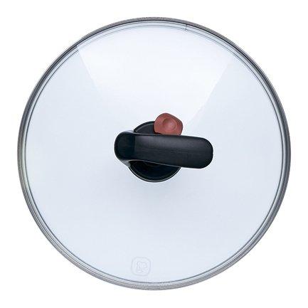Rondell Крышка стеклянная с автоклапаном, 24 см TFG-24