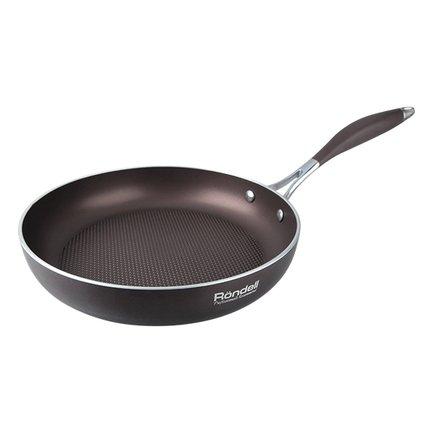 Rondell Сковорода Mocco&Latte, 24 см, без крышки RDA-276 Rondell сковорода wok rondell mocco d 32 см rda 552