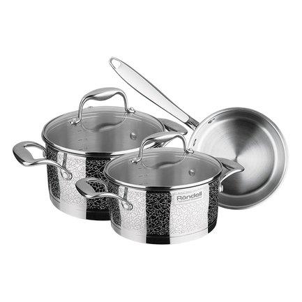 Rondell Набор посуды Vintage, 6 пр. RDS-379 Rondell rondell набор посуды balance 8 пр rds 756 rondell