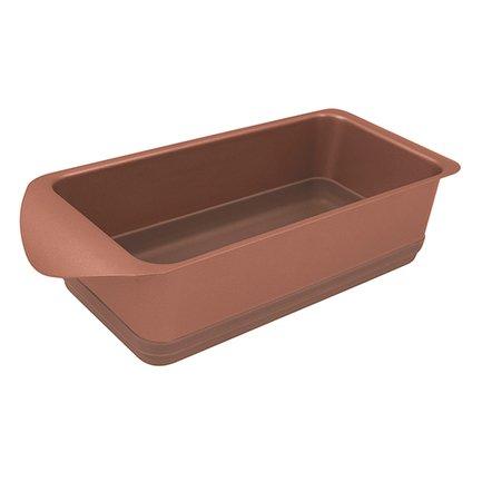 Rondell Форма для запекания паштета Karamelle, 10х20 см, карамельная RDF-448 Rondell rondell посуда для запекания champagnе прямоугольная 30х27 см rdf 416 rondell rdf 416 rondell
