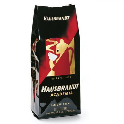 Hausbrandt Кофе в зернах Академия, 1 кг, вакуумная упаковка 518 Hausbrandt цена и фото