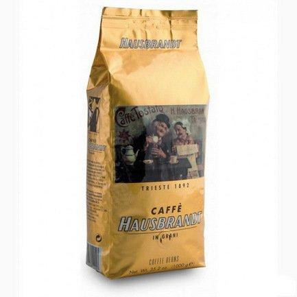 Hausbrandt Кофе в зернах Эспрессо, 1 кг, вакуумная упаковка 524 Hausbrandt цена и фото