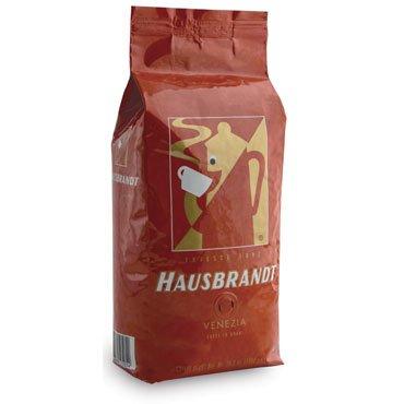 Hausbrandt Кофе в зернах Венеция, 1 кг, вакуумная упаковка 525