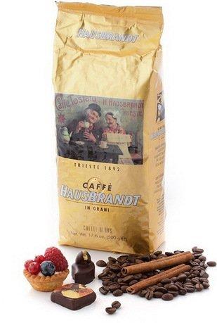 Hausbrandt Кофе в зернах Эспрессо, 0.5 кг, вакуумная упаковка 545 Hausbrandt цена и фото