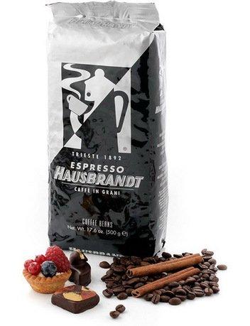Hausbrandt Кофе в зернах Триест, 0.5 кг, вакуумная упаковка 544