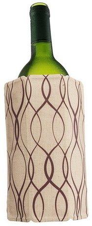 VacuVin Охладительная рубашка Rapid Ice для бутылок вина объемом 0.75 л, лён бутылка 0 4 л asobu ice t 2 go фиолетовая it2go violet