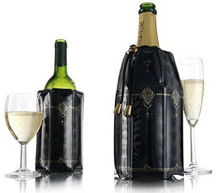 VacuVin Набор охладительных рубашек RI Wine & Champagne 0.75 л, 2 пр. 3887360 VacuVin wine tools винный набор 5 пр бутылка глянцевая с красной пробкой