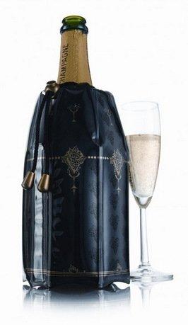 VacuVin Охладительная рубашка RI Champagne Cooler для шампанского 38853606 VacuVin vacuvin сумка под бутылку и охладительная рубашку bottle bag