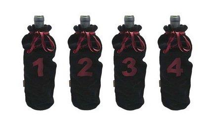 Фото - Набор мешков для слепой дегустации вина Blind tasting bags, 4 шт. FIA 036 Vin Bouquet набор металлических камней для виски с гелем 4 шт fie 019 vin bouquet