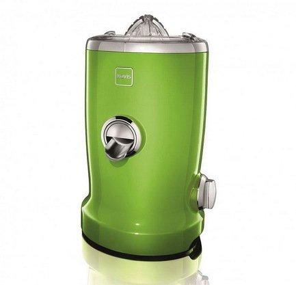 Соковыжималка для фруктов и овощей Novis Vita Juicer, многофункциональная, 4-в-1, зеленая 6511.06.20