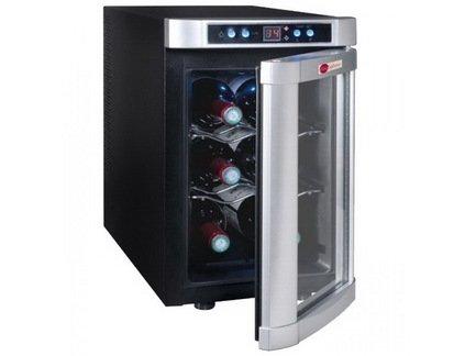 La Sommeliere Винный шкаф (8-18°C), на 6 бутылок, 2 проволочные полки VN6B La Sommeliere la sommeliere винный шкаф 8 18°c на 6 бутылок 2 проволочные полки vn6b la sommeliere