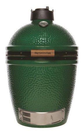 Керамический гриль Big Green Egg Medium 18, зелёный AMHD1