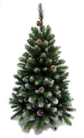 Triumph Tree Ель Императрица с шишками, 215 см, заснеженная триумф декор гирлянда императрица с шишками 270 см triumph tree