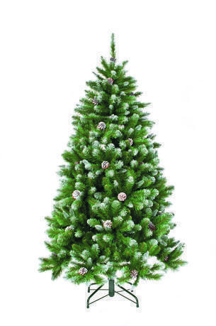 Triumph Tree Ель Императрица с шишками, 230 см, заснеженная триумф декор гирлянда императрица с шишками 270 см triumph tree