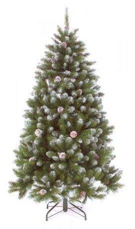Triumph Tree Ель Императрица с шишками, 260 см, заснеженная триумф декор гирлянда императрица с шишками 270 см triumph tree