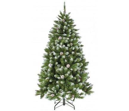 Triumph Tree Ель Императрица с шишками, 305 см, заснеженная триумф декор гирлянда императрица с шишками 270 см triumph tree