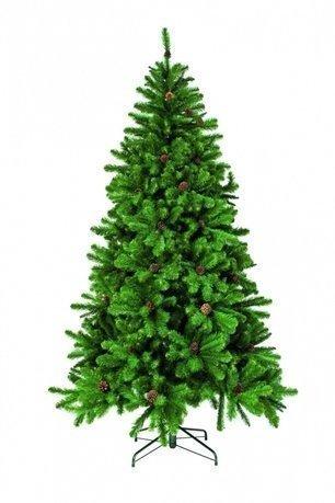 Triumph Tree Ель Императрица с шишками, 200 см, зелёная триумф декор гирлянда императрица с шишками 270 см triumph tree