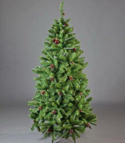 Triumph Tree Ель Императрица с шишками, 230 см, зелёная триумф декор гирлянда императрица с шишками 270 см triumph tree
