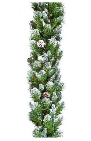 Triumph Tree Гирлянда Императрица с шишками, 180х30 см, заснеженная триумф декор гирлянда императрица с шишками 270 см triumph tree