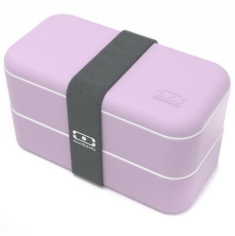 Monbento Ланч-бокс MB Original New Edition Lilas, 10х19х9.4 см, сиреневый