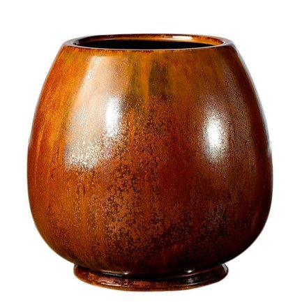 Deroma Кашпо Crystal Rosenpot Red Rust, медное, 27x26 см купить steam аккаунт rust онлайн магазин