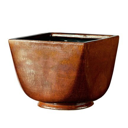 Deroma Кашпо Crystal Quadro Red Rust, медное, 37x31 см купить steam аккаунт rust онлайн магазин