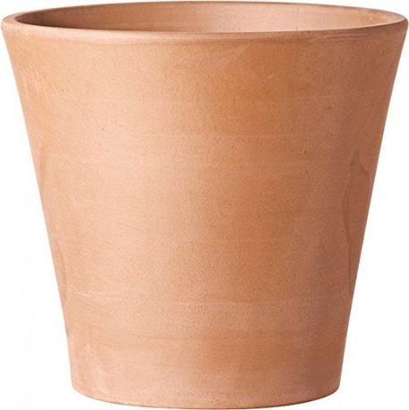 где купить Deroma Кашпо Cono Vaso White Garden, абрикосовое, 16x14.7 см по лучшей цене