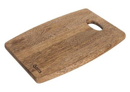 Gottis Разделочная доска, 34x26x1.8 см, из дерева панга-панга 16/34
