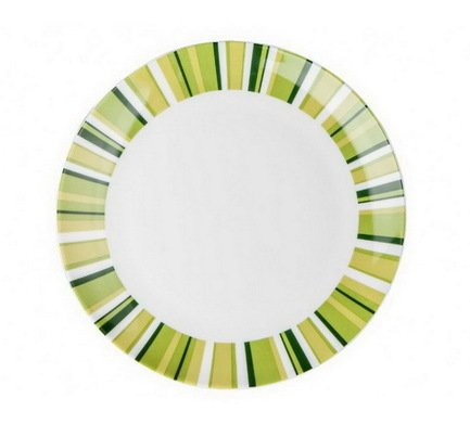 Royal Aurel Тарелка плоская Фортуна грин, 20 см тарелка под пасту 25 5 см royal porcelain тарелка под пасту 25 5 см