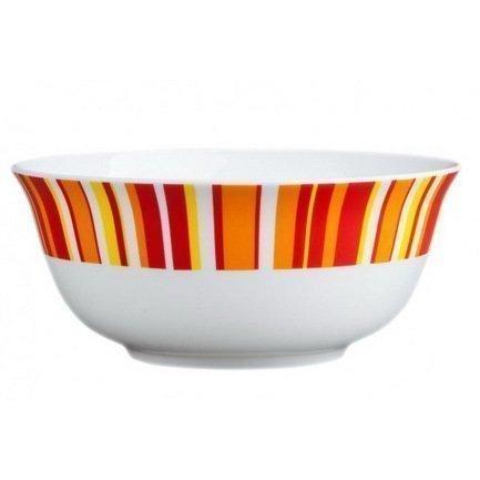 Салатник Фортуна оранж, 15 см, арт.854r