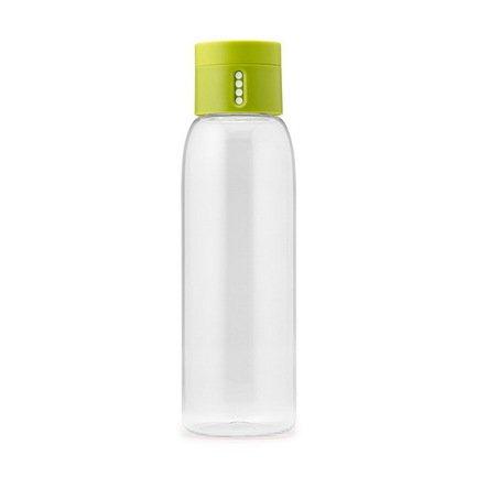 Joseph&Joseph Бутылка для воды Dot (0.6 л), 23.5х7 см, зеленая joseph