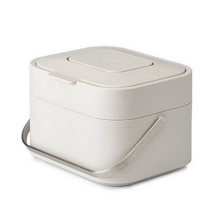 Контейнер для пищевых отходов Stack 4, 23.8х16.7х19.7 см, белый