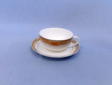 Takito Чашка Аквамарин (350 мл) с блюдцем