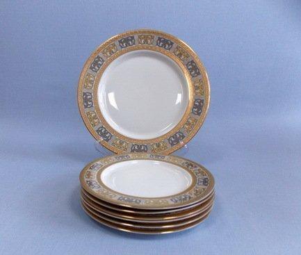 Takito Набор закусочных тарелок Дионис с блюдом на 6 персон, 7 пр.