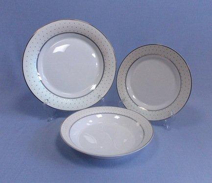 Takito Набор тарелок Лира на 6 персон, 18 пр.