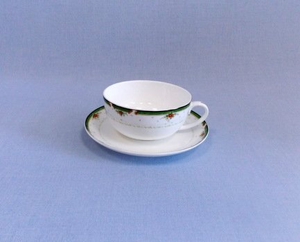 Takito Чашка с блюдцем Ренессанс (350 мл) кружка кофе 350 мл nuova r2s s p a кружка кофе 350 мл