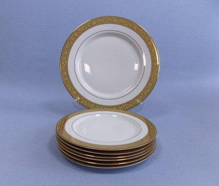 Takito Набор закусочных тарелок с блюдом Феникс на 6 персон, 7 пр.