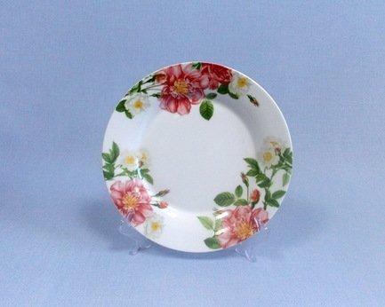 Takito Набор закусочных тарелок Цветущий шиповник, 21.5 см, 6 пр.