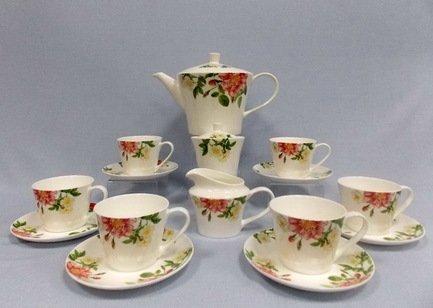 Takito Сервиз чайный Цветущий шиповник на 6 персон, 17 пр. 30603-4