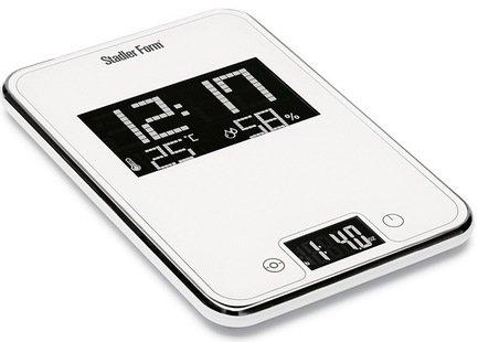 Stadler Form Весы кухонные Scale One, 15.5x22.7x2 см, белые SFL.0011 white