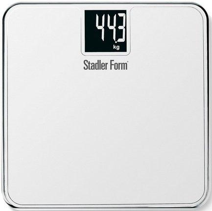 Stadler Form Весы напольные Scale Two, 31.1x2.5x31.1 см, белые SFL.0012 white Stadler Form какой фирмы напольные весы лучше купить