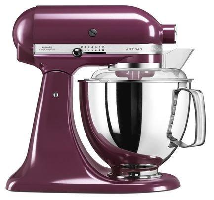 KitchenAid Миксер планетарный Artisan (4.8 л), фиолетовый kitchenaid набор круглых чаш для запекания смешивания 1 4 л 1 9 л 2 8 л 3 шт кремовые